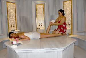 Serenity Spa traditional Turkish Bath peeling