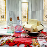 Turkish Bath in Ece Saray Resort hotel
