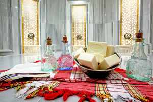 Turkish Bath in Ece Saray Resort hotel