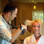 Serenity Spa hairdresser